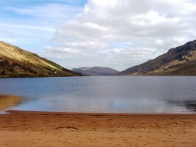 Beach at Lough Nafooey